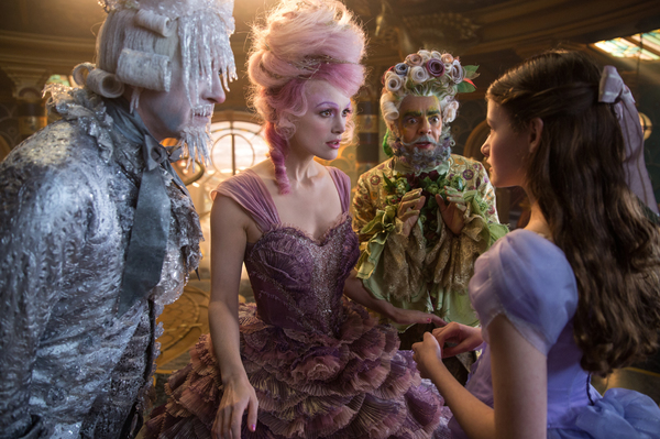 Richard E. Grant is Shiver, Keira Knightley is The Sugar Plum Fairy, Eugenio Derbrez  Photo