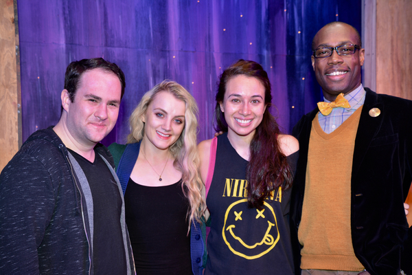 Zac Moon, Evanna Lynch, Julie Ann Earls and Langston Belton