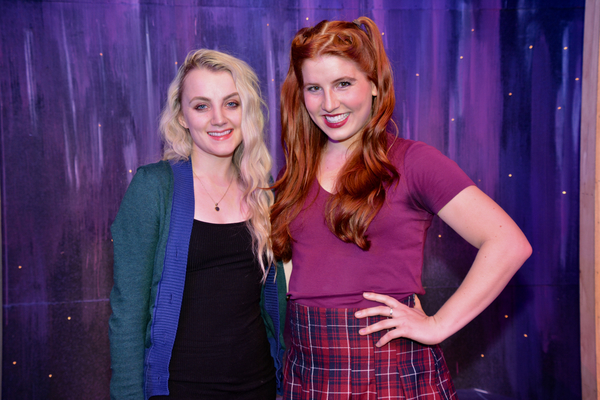 Evanna Lynch and Andy Miller