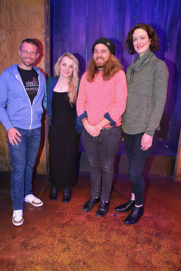 Photo Coverage: Evanna Lynch Visits The Cast and Creative Team of PUFFS