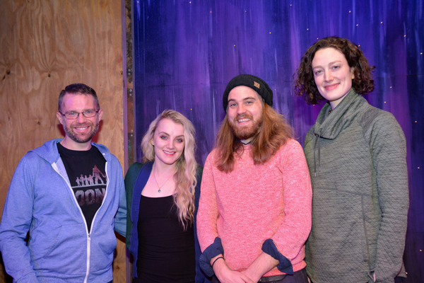 John Arthur Pinckard, Evanna Lynch, Matt Cox and Kristin McCarthy Parker