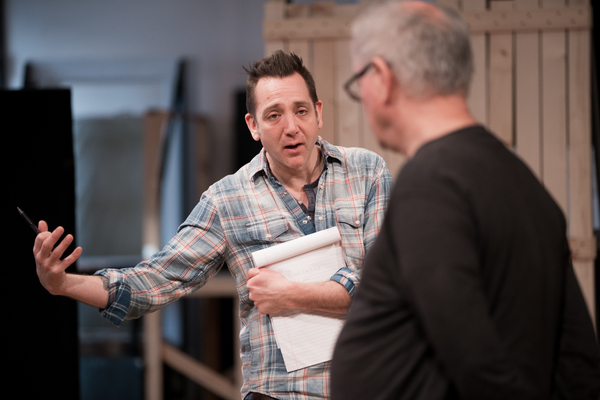 Director Jonathan Berry and Francis Guinan