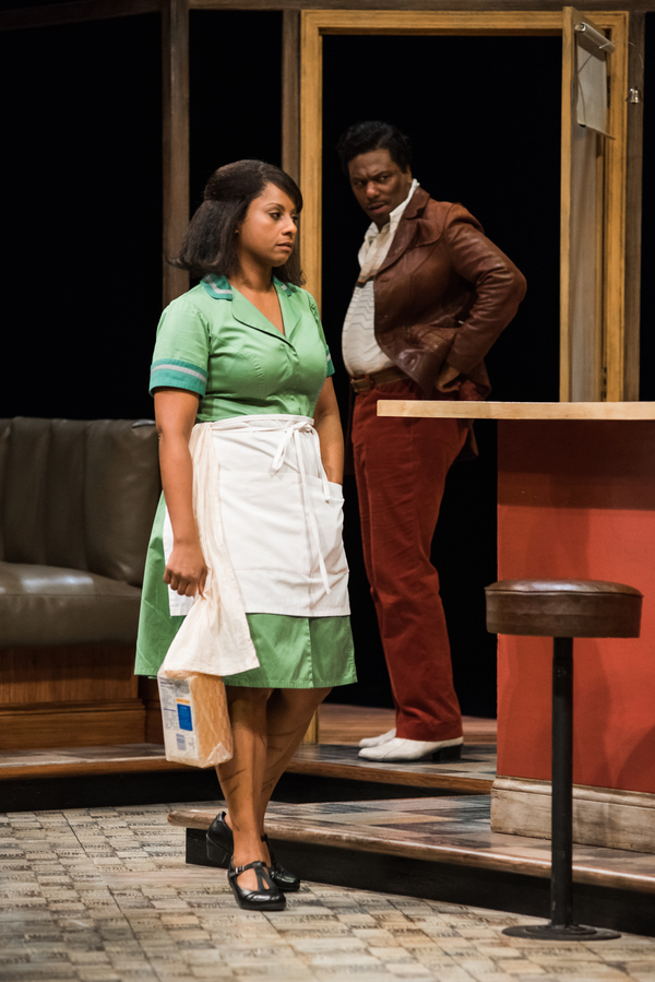 Nicole Lewis (Risa) and Reginald Andre Jackson (Wolf)