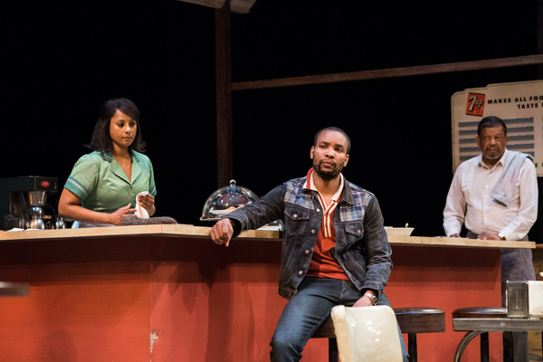 Photo Flash: Seattle Rep Stages TWO TRAINS RUNNING