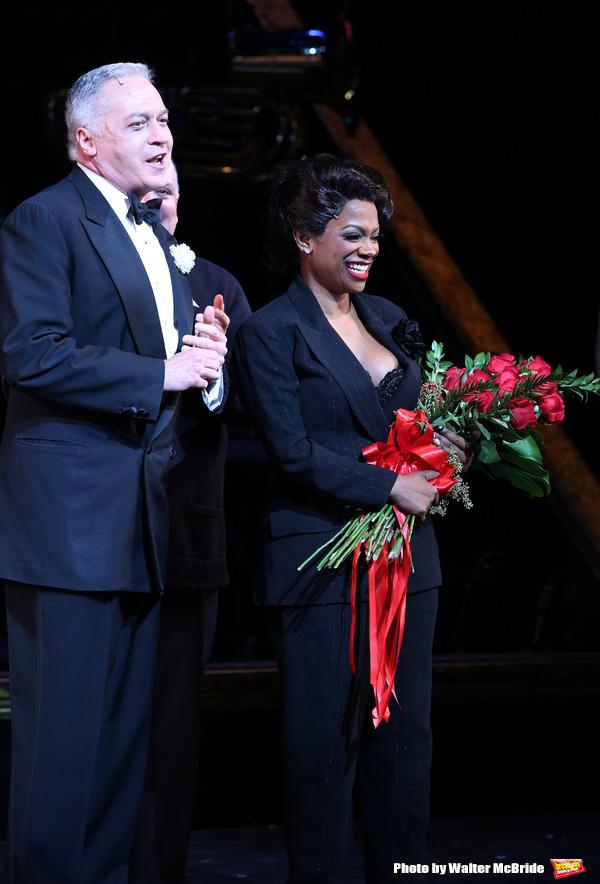 Tom Hewitt with Kandi Burruss