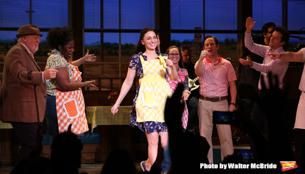 Photo Coverage: Back to the Diner! Sara Bareilles Returns to WAITRESS
