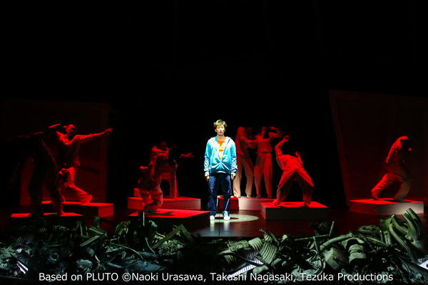 Sidi Larbi Cherkaoui/Bunkamura Theatre Cocoon, Pluto, credit Naoki Urasawa, Takashi Nagasaki, Tezuka Productions