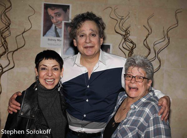 Sherry Eaker, Sidney Myer, Penny Landau Photo