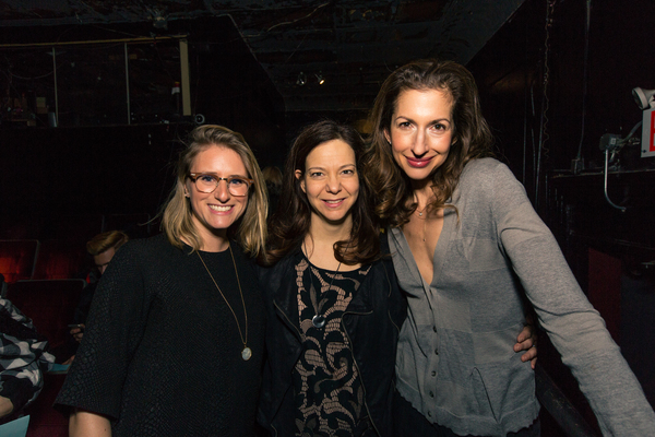 Photo Flash: Rattlestick Playwrights Theater Celebrates Opening Night of UNTIL THE FLOOD