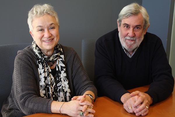 Richard Pevear and Larissa Volokhonsky Photo