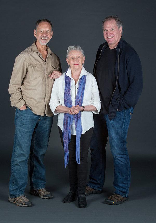 Jon DeVries, Roberta Maxwell, and Jay O. Sanders
