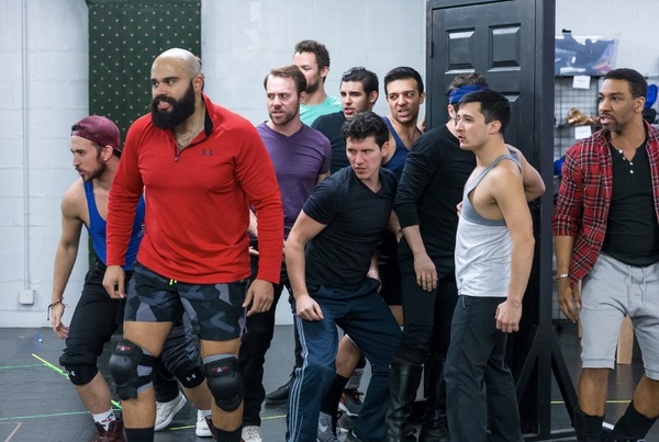 Photo Coverage: See Rehearsal Photos of JOSEPH AND THE AMAZING TECHNICOLOR DREAMCOAT at Drury Lane Theatre!