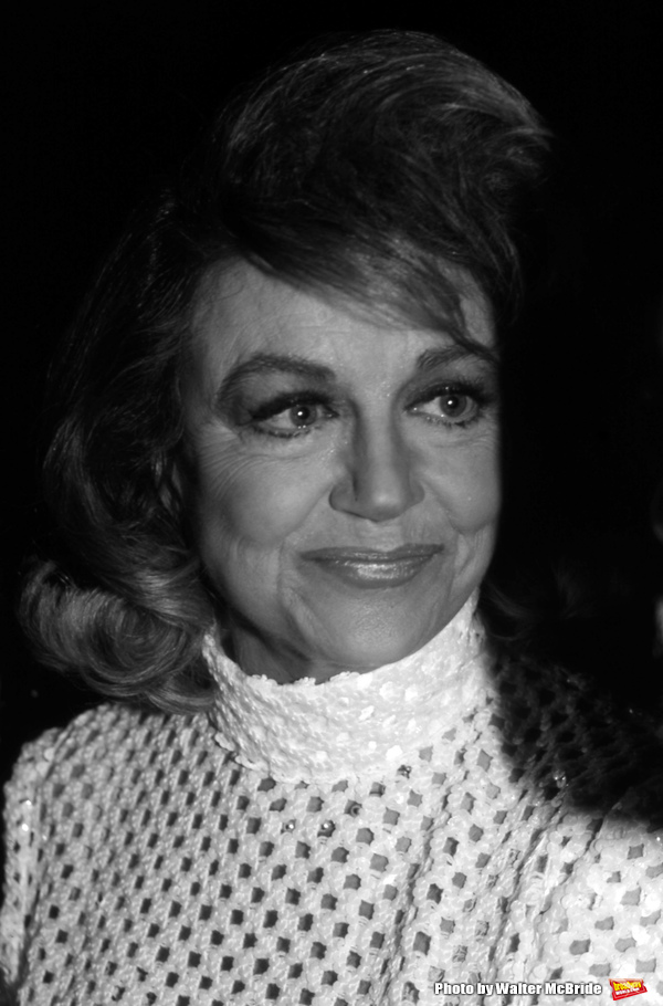 Dorothy Malone attends The National Film Society's Eighth Annual Artistry in Cinema Awards on September 25, 1983 at The Sheraton Centre's Imperial Ballroom in New York City.
