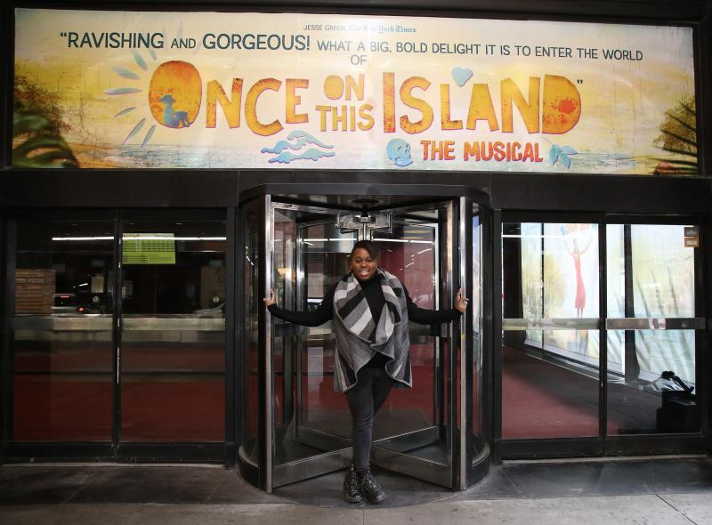 Debut of the Month: Mama Has Provided! ONCE ON THIS ISLAND's Alex Newell