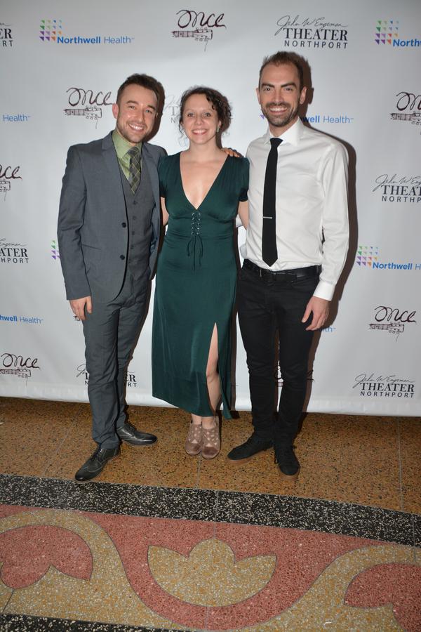 Trey Compton, Natalie Malotke (Associate Director and Associate Choreographer) and James Olmstead