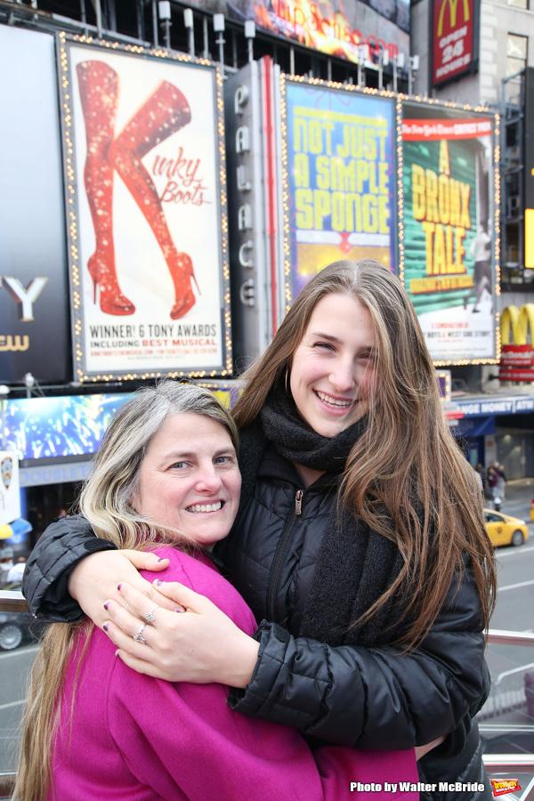 Bonnie Comley and Leah Lane