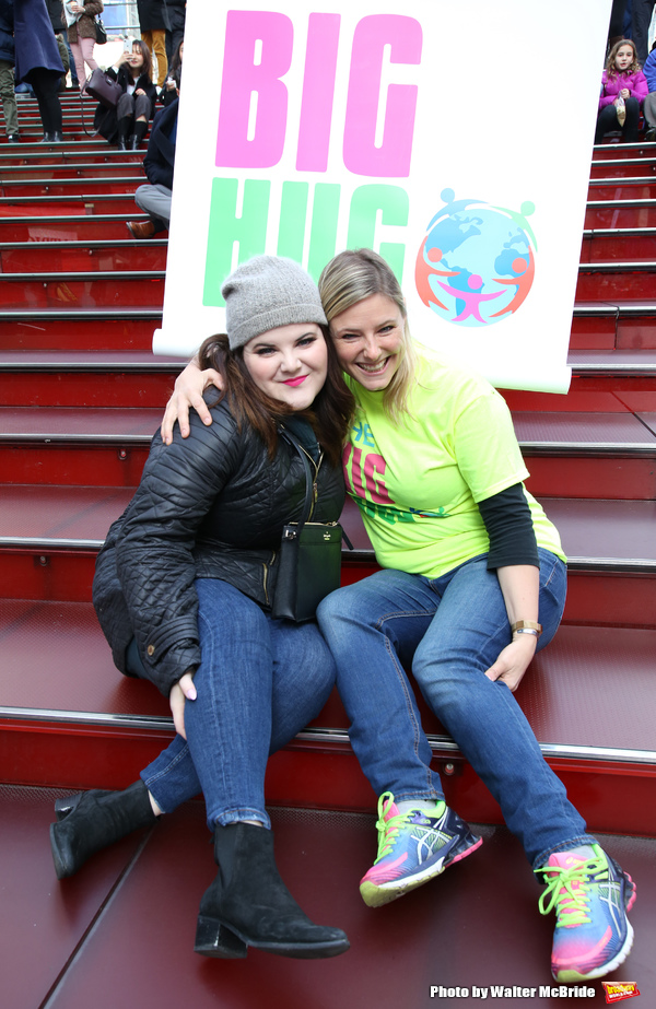 Photos: Broadway Unites in Times Square for Big Hug Day