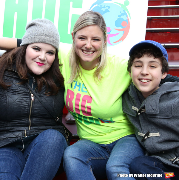 Ryann Redmond and Laura Heywood and Anthony Rosenthal