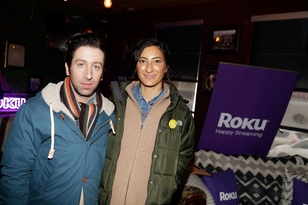 Jessica Sanders and Simon Helberg