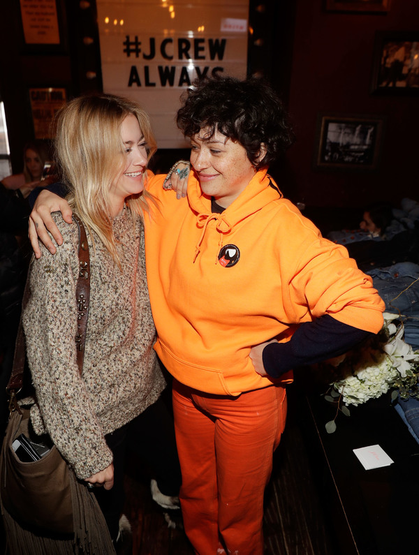 Meredith Hagner and Alia Shawkat