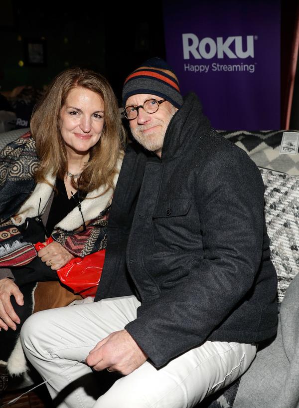 Paula Elliot and Chris Elliot