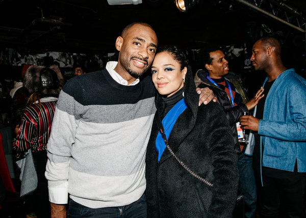 Charles King, Tessa Thompson Photo
