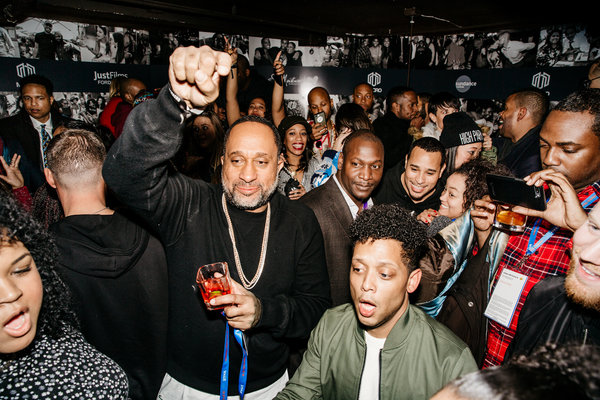 Photo Flash: John Legend, Danai Gurira, Omari Hardwick and More Party at Midnight MACRO at Sundance