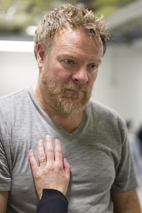 Photos: Inside Rehearsal for AGAIN at Trafalgar Studios