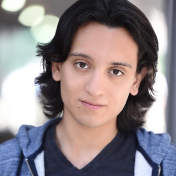 Andres Gallardo Bustillo splits his time from acting to directing high school productions (The Twelve Dates of Christmas and The Lion King,to name two).