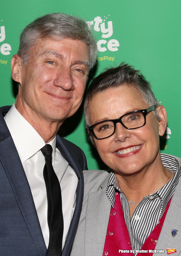 David Garrison and Amanda Bearse
