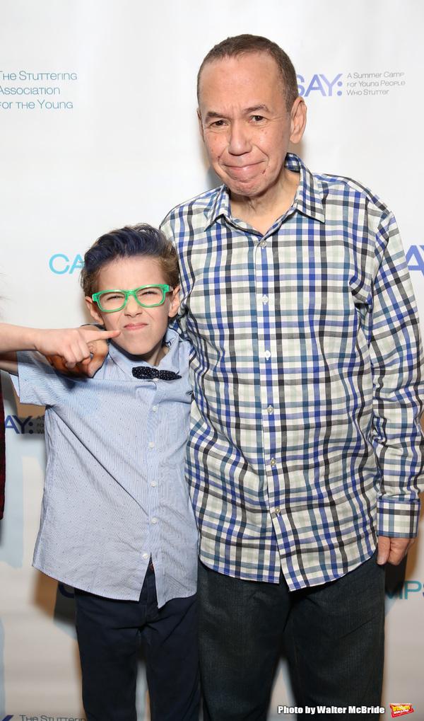 Max Gottfried and Gilbert Gottfried  Photo