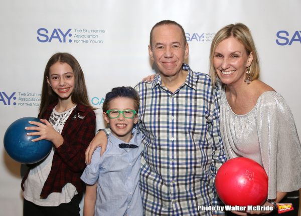 Lily Gottfried, Max Gottfried, Gilbert Gottfried and Dara Kravitz