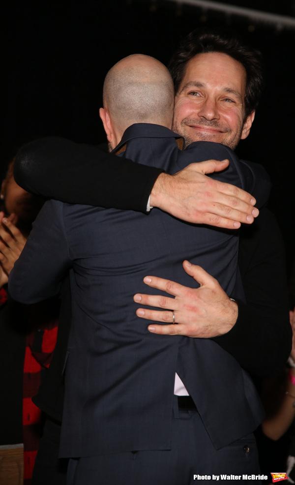 Taro Alexander and Paul Rudd