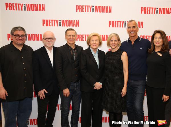J.F. Lawton, Jim Vallance, Bryan Adams, Barbara Marshall, Kathleen Marshall, Jerry Mi Photo