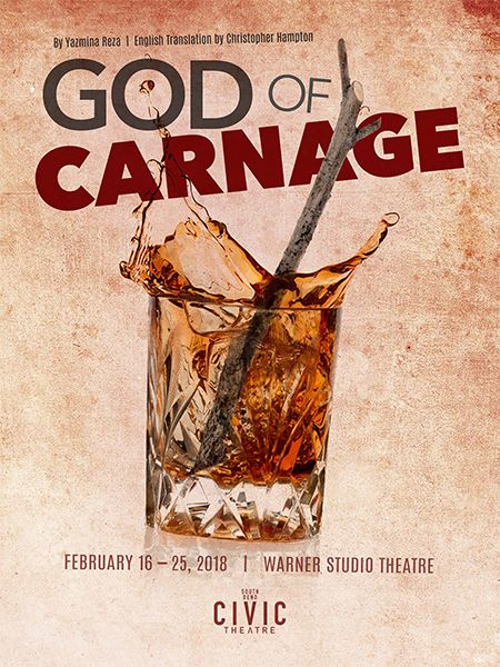 GOD OF CARNAGE at South Bend Civic Theatre