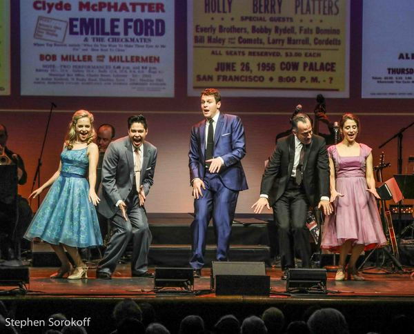Stephanie Styles, George Salazar, Jonathan Groff, David Pittu, Elena Shaddow