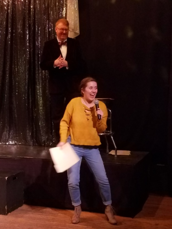 Steph Vondell, Best Actress in a Play (Non-Equity) for THE NANCE Photo