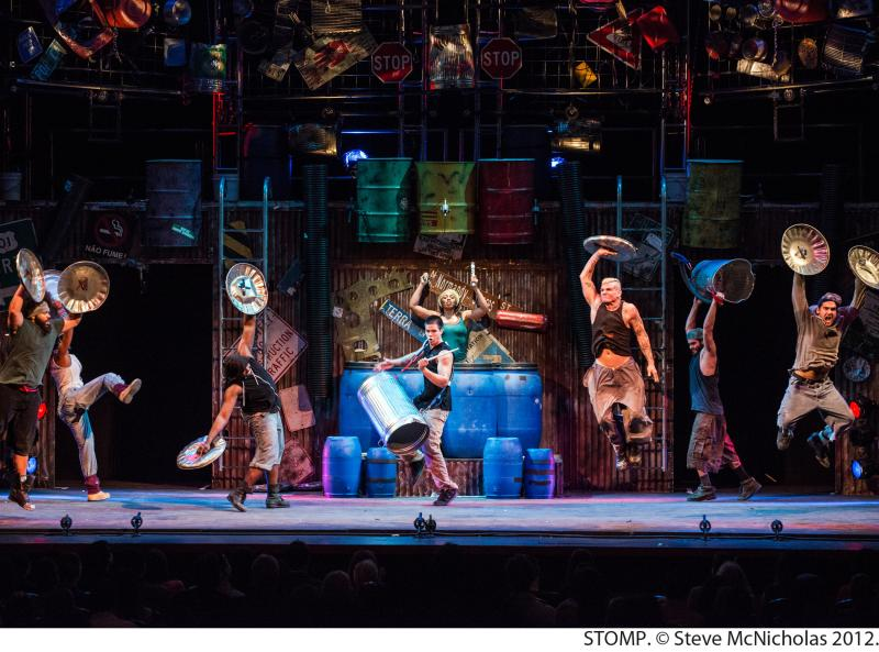 Experience the Rhythm of New York with Tickets to STOMP for just $59.50!