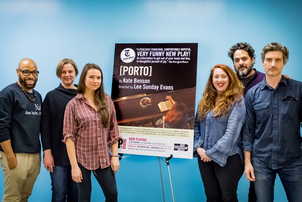 Photo Flash: Get a First Taste of Rehearsals for PORTO at WP Theater