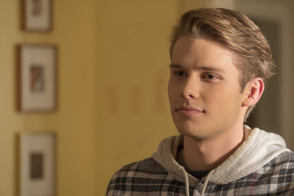 """THIS IS US -- """"That'll Be The Day"""" Episode 213 -- Pictured: Logan Shroyer as Kevin -- (Photo by: Ron Batzdorff/NBC)"""