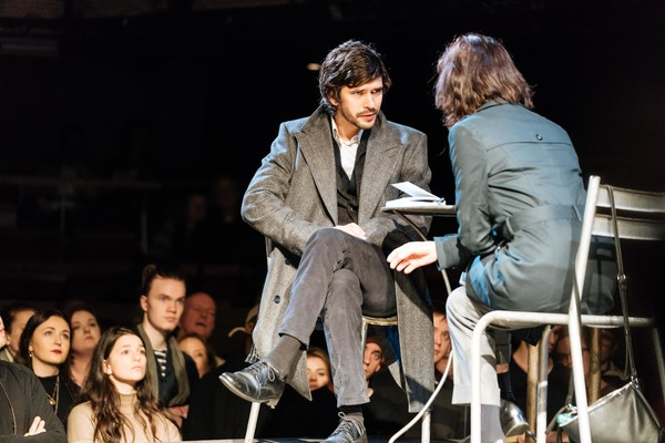 Ben Whishaw and Michelle Fairley