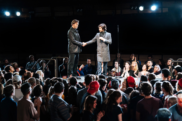 Photo Flash: First Look at Ben Whishaw, Michelle Fairley & More in JULIUS CAESAR