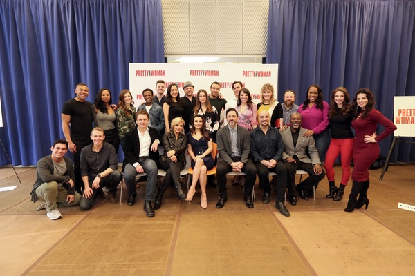 Photo Flash: PRETTY WOMAN the Musical Struts Into Rehearsals; See the Full Company!