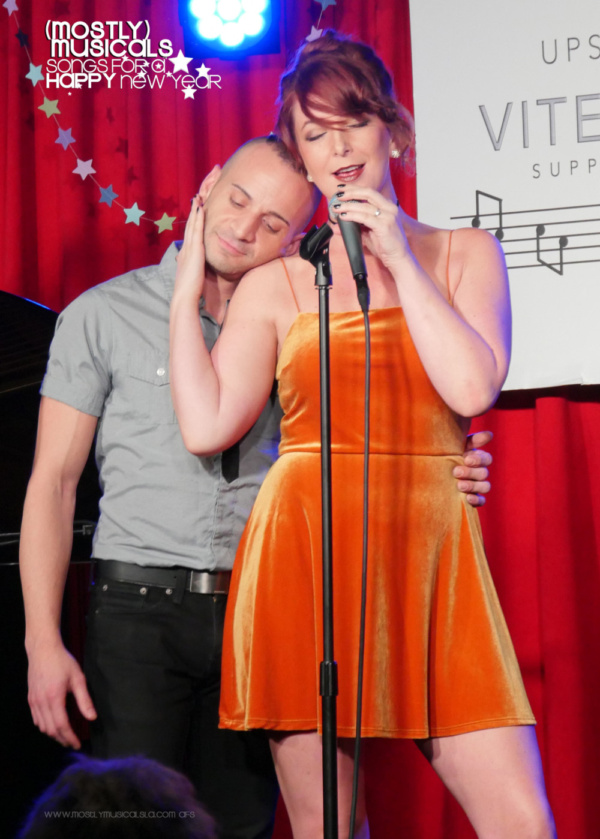 Matthew Valle and Alli Miller You're Just in Love (photo: amy francis schott)
