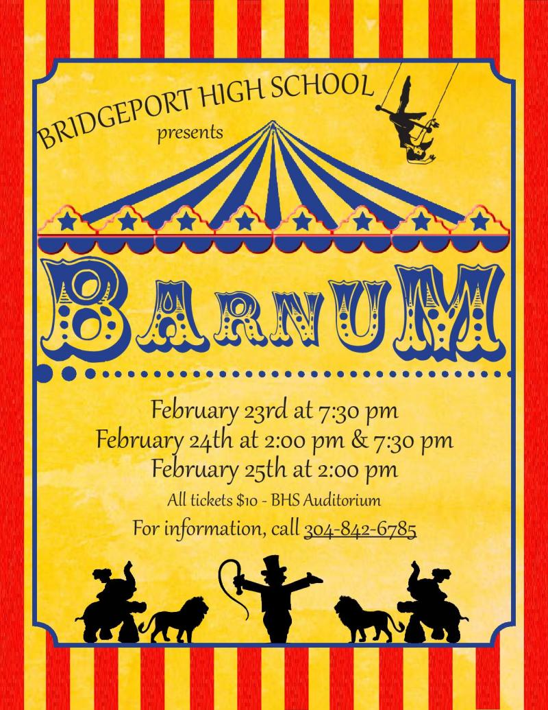 BWW Feature: BARNUM Comes to the Bridgeport High School Theatre This February