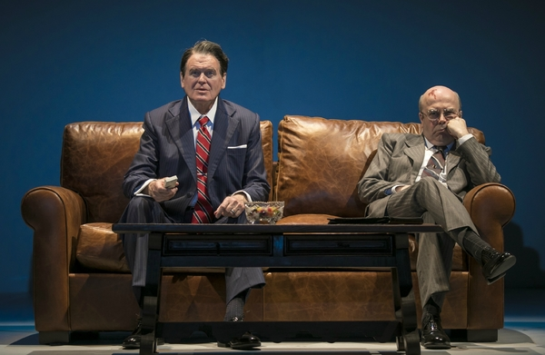 Rob Riley (Ronald Reagan) and William Dick (Mikhail Gorbachev) in Blind Date by Rogel Photo