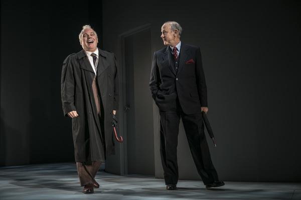 Steve Pickering (Eduard Shevardnadze) and Jim Ortlieb (George Shultz) in Blind Date b Photo