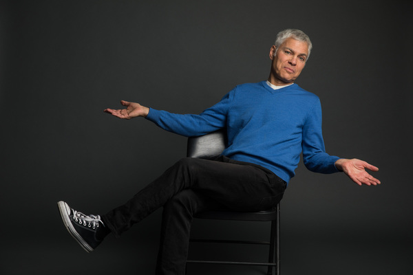 """""""What They Said About Love,"""" written by and starring Steve Budd, sheds light on how people meet and make it to the altar, the push and pull of relationships, singles who can't seem to settle down, and more, February 2 - March 3, 2018 at The Marsh Berkeley"""