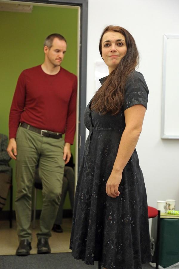 Michael Markham and Zoe Watkins  Photo