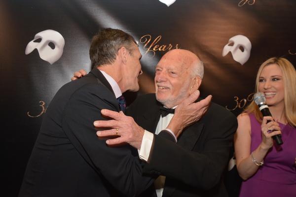 Howard McGillin and Hal Prince